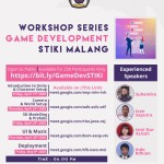 WORKHOP SERIES GAME DEVELOPMENT STIKI MALANG